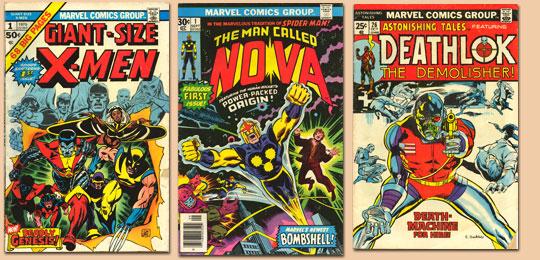 My New Comics