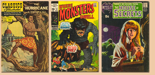 Old Comic Covers